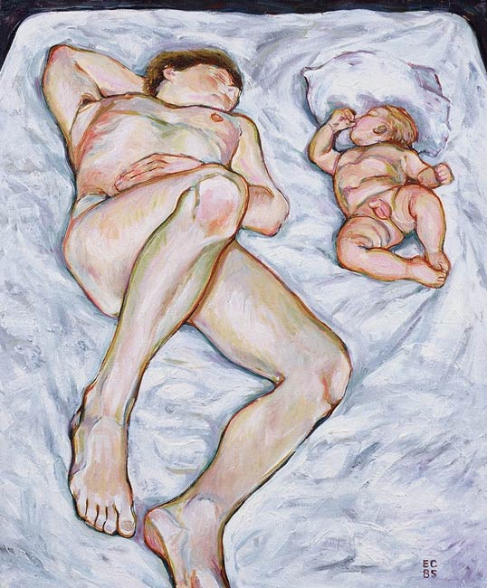 The Nap, 1985, Oil/Canvas, 24 x 20""